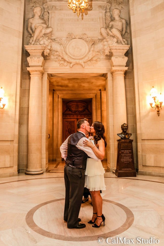 SF City Hall wedding photo (3)