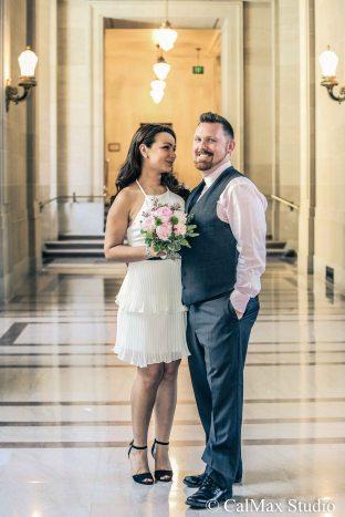 SF City Hall wedding photo (4)