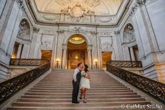 SF City Hall wedding photo (9)
